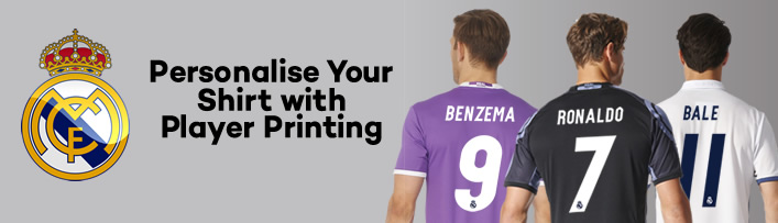 official photos 9ad1f c7788 Real Madrid Hero Shirts