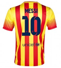 2013/14 FC Barcelona Away Jersey Messi 10