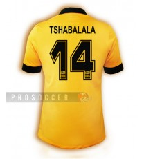 2013/14 Kaizer Chiefs Home Kit - TSHABALALA 14