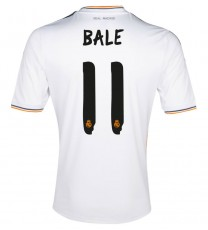 Real Madrid Home Shirt 2013/14 Bale 11