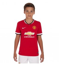 Nike Manchester United Boys Home Jersey 2014/2015