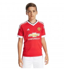 2015/16 Manchester United Home Youth Jersey
