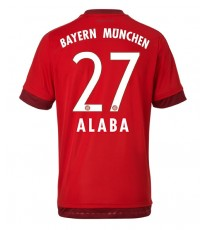 2015/16 Bayern Munich Home Jersey Alaba 27