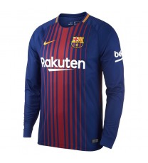 Barcelona Home L/sleeve Jersey 17/18