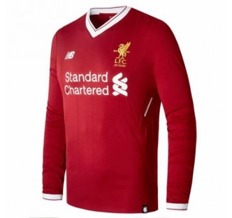 Liverpool Home Long Sleeve Jersey 2017-18
