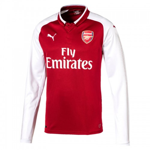 664b72c10 Arsenal FC Long Sleeve Home Shirt 2017-18