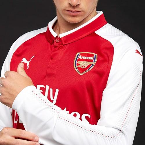 abca377973e Arsenal FC Long Sleeve Home Shirt 2017-18