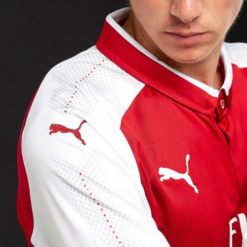 6131ddeb0 Arsenal FC Long Sleeve Home Shirt 2017-18