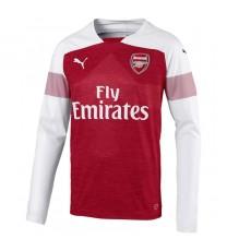 92da7c82e1 Arsenal FC Home Shirt 18/19 - Long Sleeve