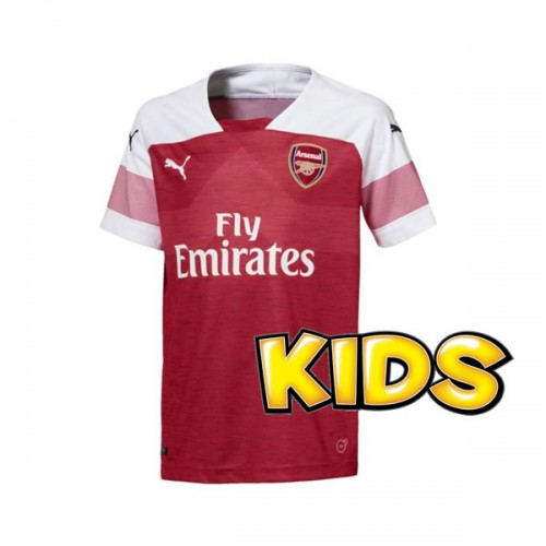 772598db Arsenal FC Home Shirt 18/19 - KIDS