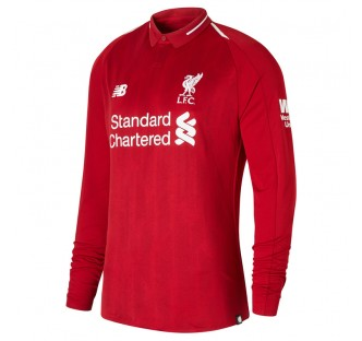 Liverpool Home Jersey 2018-19 - Long Sleeve