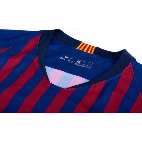 bdb2e0df820 Barcelona FC Home Jersey 18/19