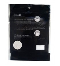 5 Pack - D15 Face Mask Filters