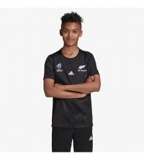 All Blacks Home World Cup Rugby Jersey 19-20 - KIDS