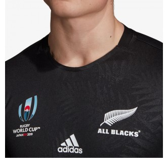 All Blacks Home World Cup Rugby Jersey 19-20