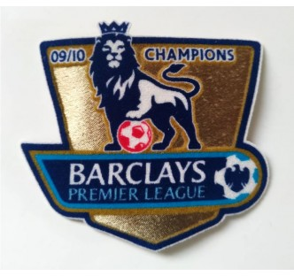 Premier League Champions Badges 09/10 (x2)