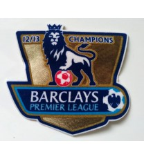 Premier League Champions Badges 12/13 (x2)