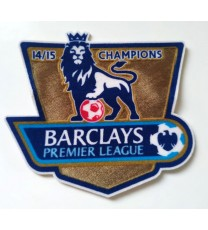 Premier League Champions Badges 14/15 (x2)