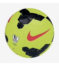 Nike Pitch Premier League Soccer Ball Lime Green