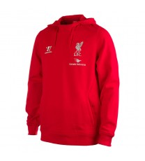 Warrior Liverpool Training Hoody Red
