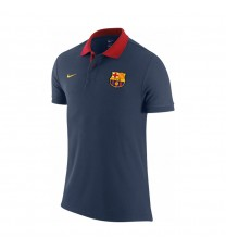 Barcelona FC Core Polo - Navy /red