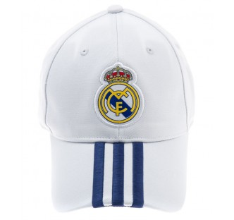 Real Madrid Home Adidas 3 Stipes Cap
