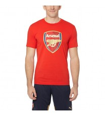 Puma Arsenal Crest Fan T-Shirt