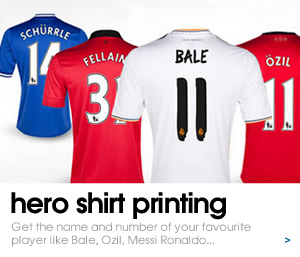 Get your favourite Hero shirts printed here...