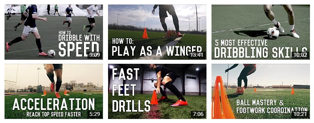 Training Videos for home practice...