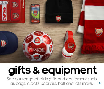 Arsenal gifts and equipment
