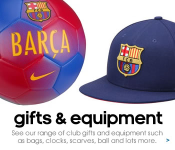 Barcelona balls, bags, scarves and equipment...
