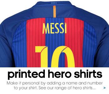 FC Barcelona Hero printed shirts...