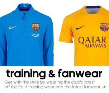 FC Barcelona Fashion Range...
