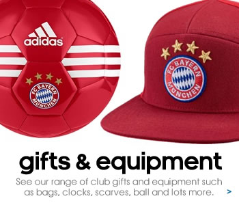 Bayern Munich gifts and equipment