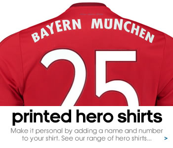 Bayern Munich hero shirts