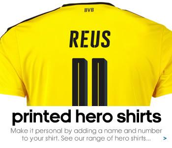 Borussia Dortmund hero shirts