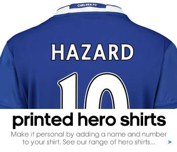 Chelsea hero shirts