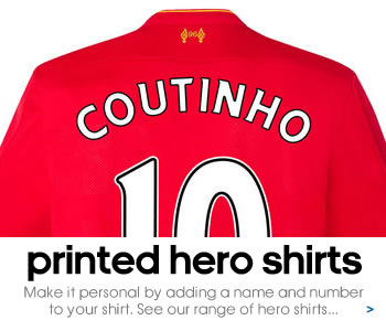 Liverpool hero shirt printing