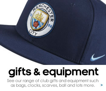 Manchester City gifts and equipment