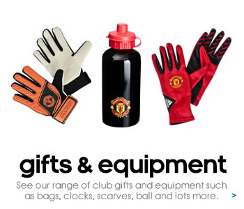 Manchester United equipment and accessories
