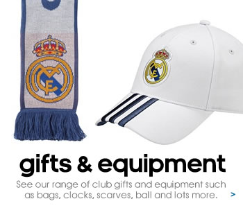 Real Madrid gifts and equipment