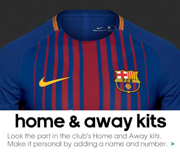 New FC Barcelona Home and Away kits...