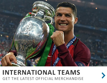 Get the latest kits from the top international teams in the world...