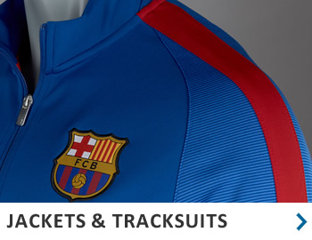 Official Soccer Merchandise - Jackets, tracksuits, hoodies...