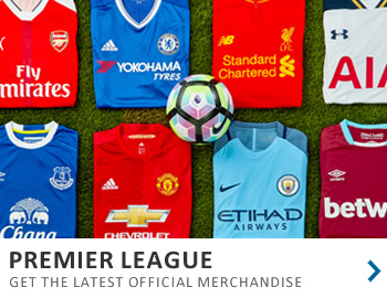 Get the latest gear from the English Premier League...