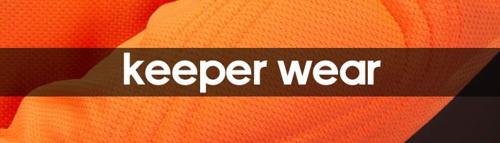 Keeper wear...