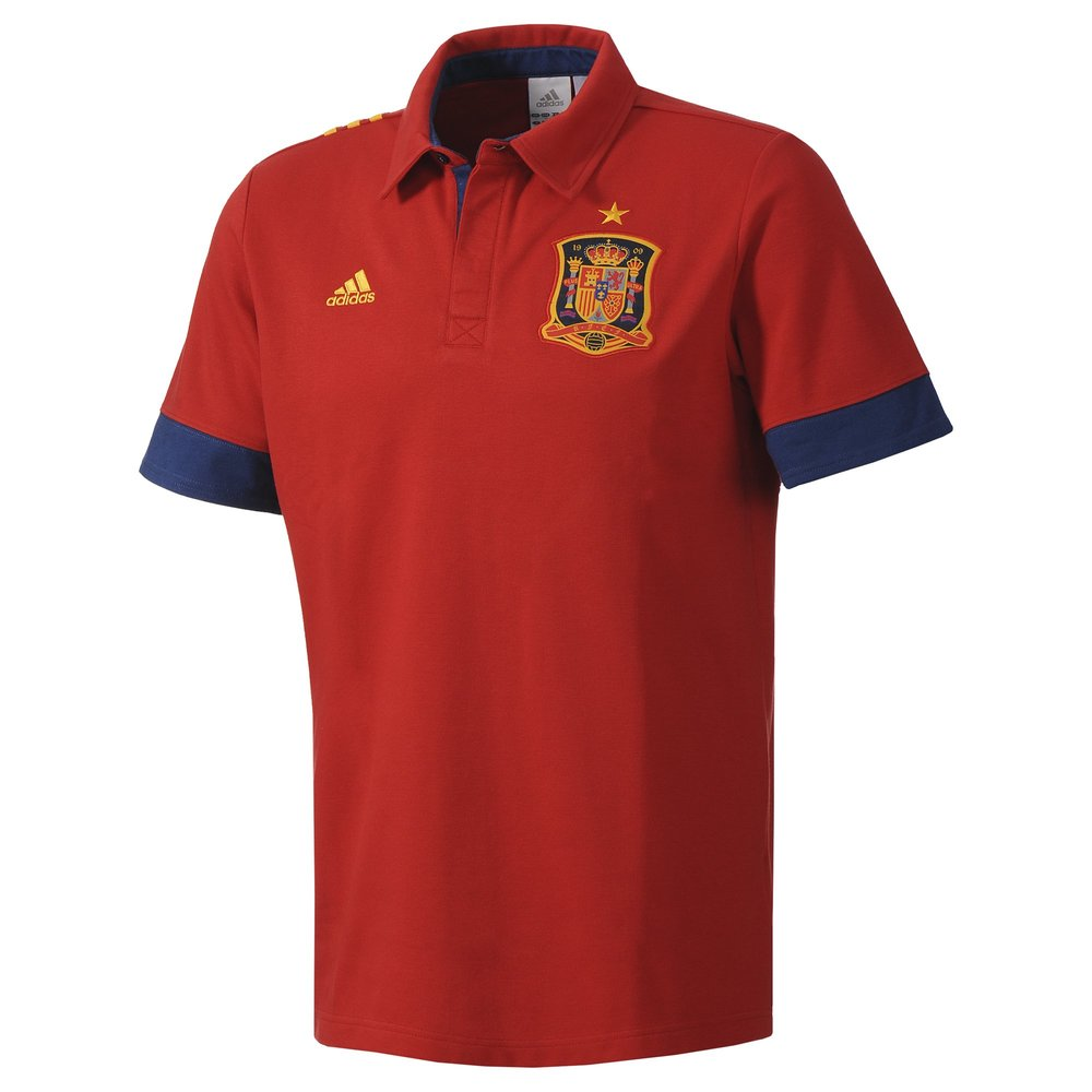 Apparel adidas spain polo shirt was sold for on for Spain polo shirt 2014