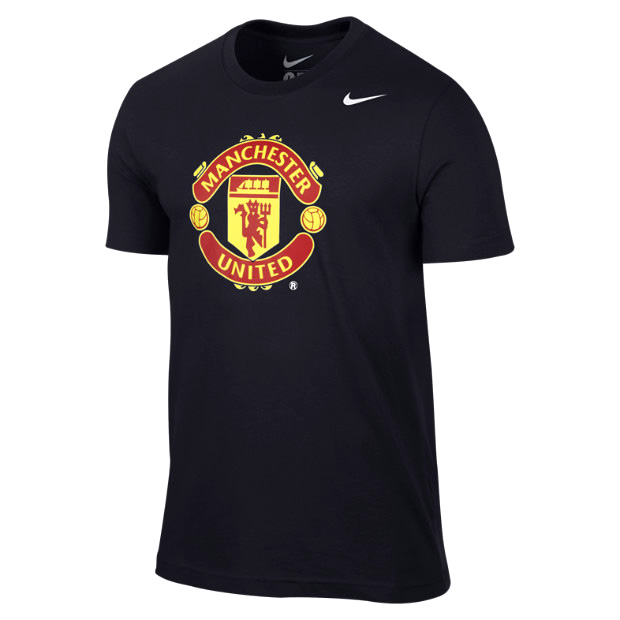 apparel manchester united core crest t shirt was sold for on 6 dec at 13 27 by. Black Bedroom Furniture Sets. Home Design Ideas