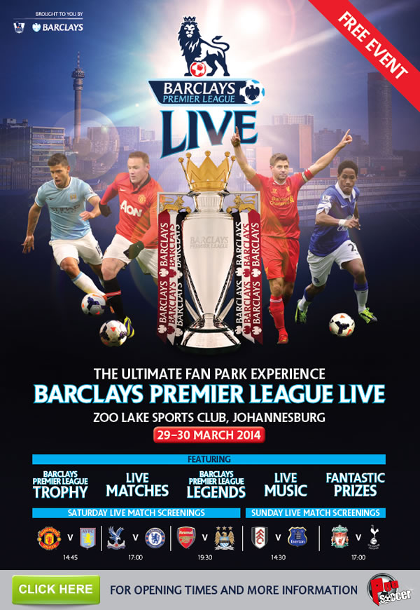 Premier League Launches First International Fan Park in SA...
