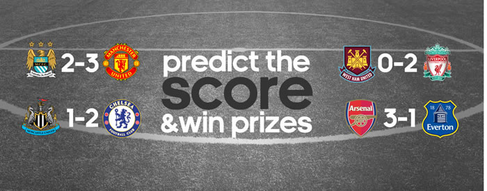 Predict the result and win...